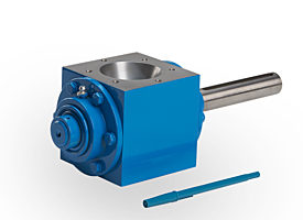 Micro-ingredient rotary valve for test batches