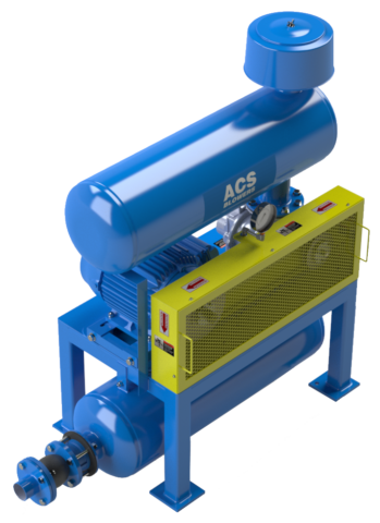 Pressure Blower Package for Conveying Systems