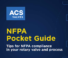 ACS NFPA Pocket Guide
